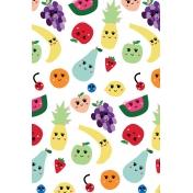 Cute Fruits Art Print 13 4x6