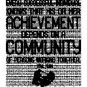 Public Discourse Word Art Community