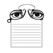 Public Discourse Pocket Card 4x4 Eyes