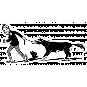 Public Discourse Sticker Donkey