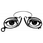 Public Discourse Sticker Eyes