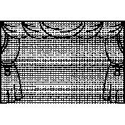 Art Class Frame Curtains Template