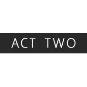 Art School Label Act Two