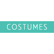 Art School Label Costumes