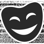 Art School Sticker Happy Face 2