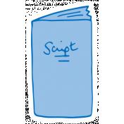 Art School Sticker Script