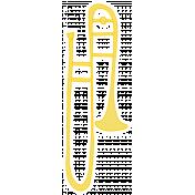 Art School Music Doodle Trombone