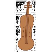 Art School Music Doodle Violin