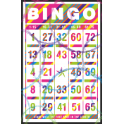 Stars Eyes Print Bingo