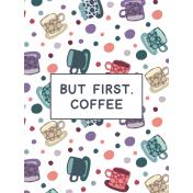 Cozy Day Pocket Card 05 3x4 Coffee