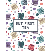 Cozy Day Pocket Card 05 3x4 Tea