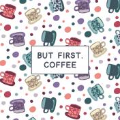 Cozy Day Pocket Card 05 4x4 Coffee