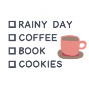 Cozy Day List Coffee Color
