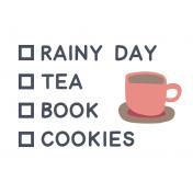 Cozy Day List Tea Color