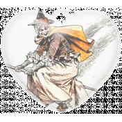 Halloween Heart Charm