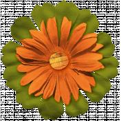 Halloween Layered Flower 1
