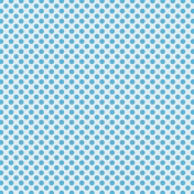 Polka Dots 23 Paper- Blue & White