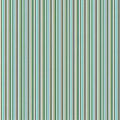 Paper 333 - Stripes - Green & Brown