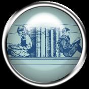 Enchanting Books Flair 13