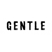 Softly Falling Label Gentle