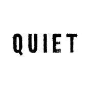 Softly Falling Label Quiet