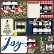 Christmas Day Pocket Layout 1