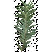 Vintage Xmas Pine Branch