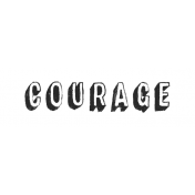 Tangible Hope Label Courage