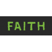 Tangible Hope Label Faith