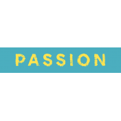 Tangible Hope Label Passion