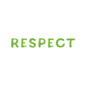 Tangible Hope Label Respect