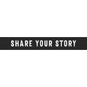 Tangible Hope Label Share Your Story