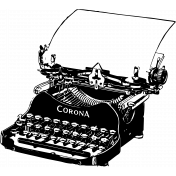 Tangible Hope Typewriter 2 Vintge Image