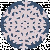 Winter Day Circle 4 Print