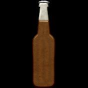The Guys Metal Beer Bottle