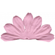 Donut Worry Pink Flower