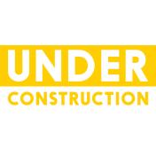 Handy People Word Art Under Construction