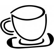 Spring Day Tea Cup Template