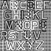 Build Your Basics Alpha #1 Black & White