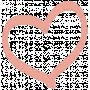 Pretty Things Print Kit- Print Heart Pink
