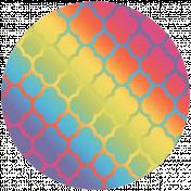 Raindrops & Rainbows Print Kit- Circle 6