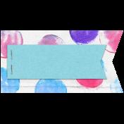 Raindrops & Rainbows Mini kit- Tag 1b