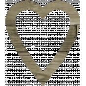 Coastal Print- Heart 01