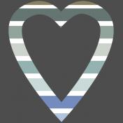 Coastal Print- Heart 02