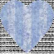 Coastal Print- Heart 03
