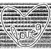 Spring Day Print Kit- Love Sticker