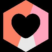Spring Day Print Kit- Hexagon 1d