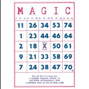 Unicorn Tea Party Print Kit- Bingo Card
