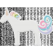 Unicorn Tea Party Element - Unicorn