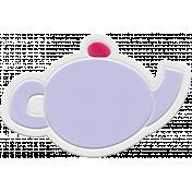 Unicorn Tea Party Element- Rubber Tea Pot